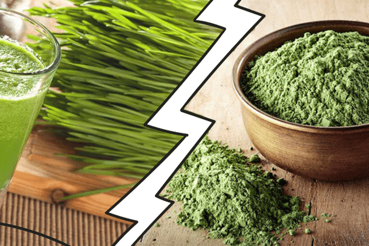 Battle of superfoods: Wheatgrass vs Chlorella