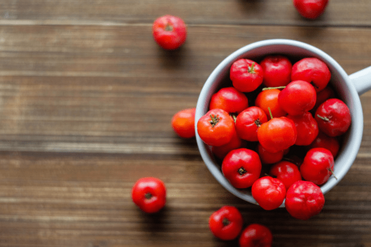 Acerola, the richest source of vitamin C