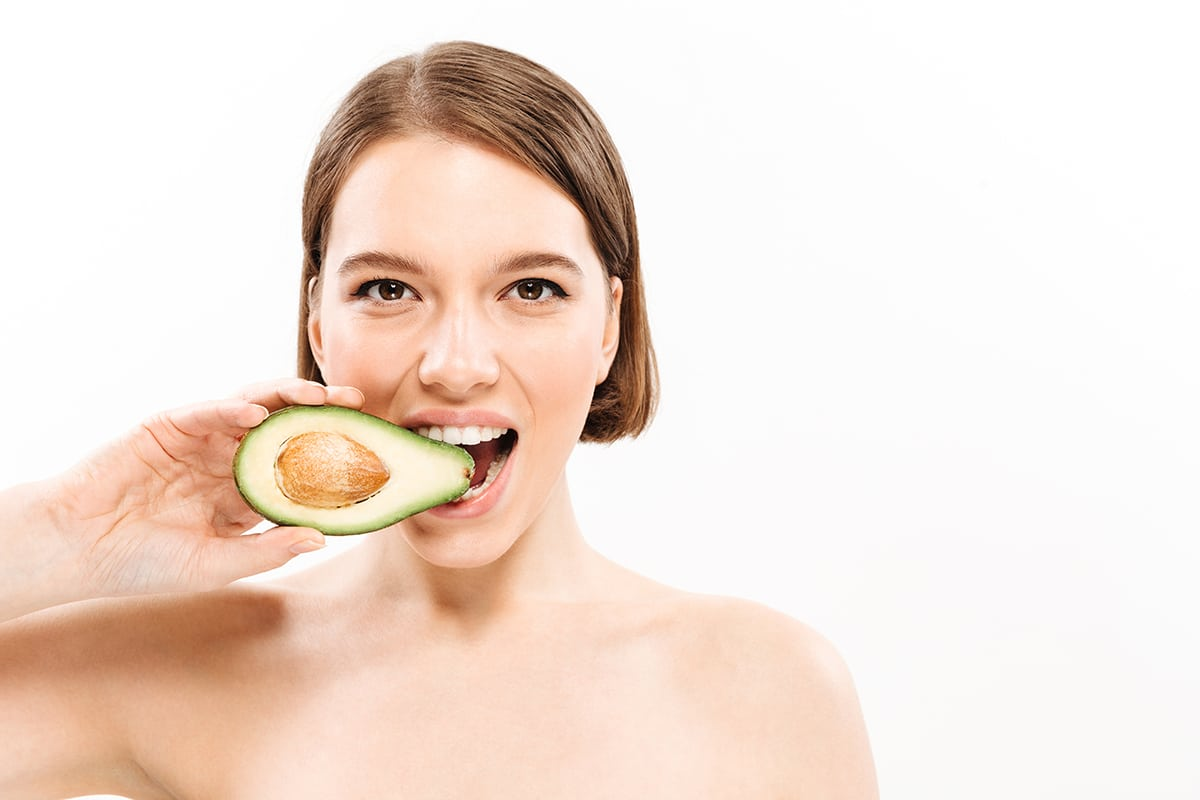 Radiant skin avocado