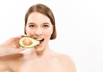 Radiant skin avocado