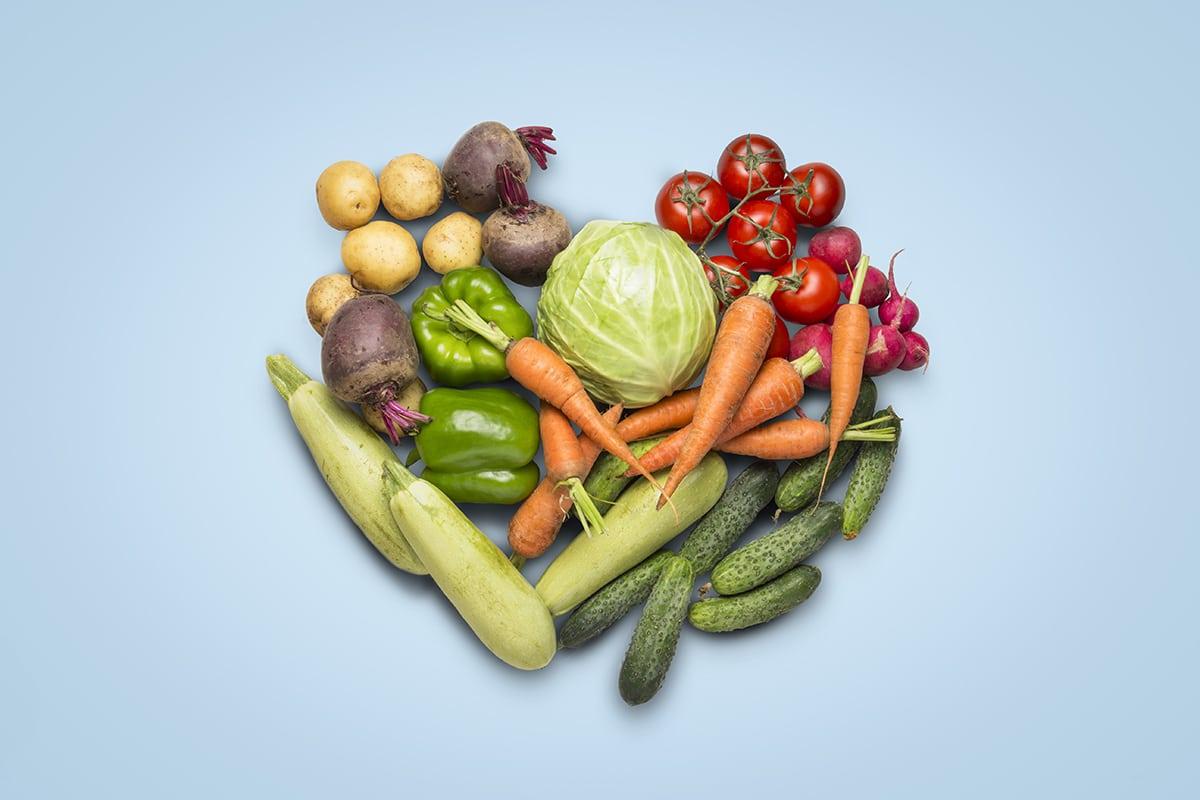 vegetarianism fruits and veggies