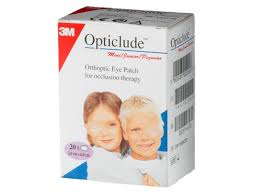 3M Opticlude Junior Mini 20 eye patches 5 x 6.2 cm