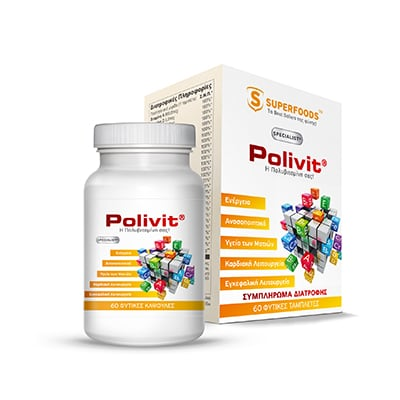 Superfoods Polivit 60 caps