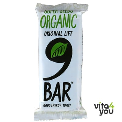 9bar Organic Super Seeds bar 50 gr