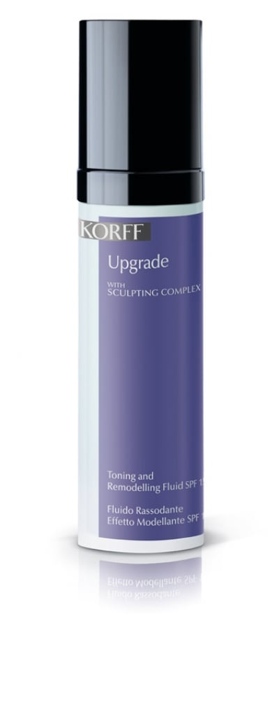 Korff Upgrade Toning and Remodelling Fluid SPF15 50ml