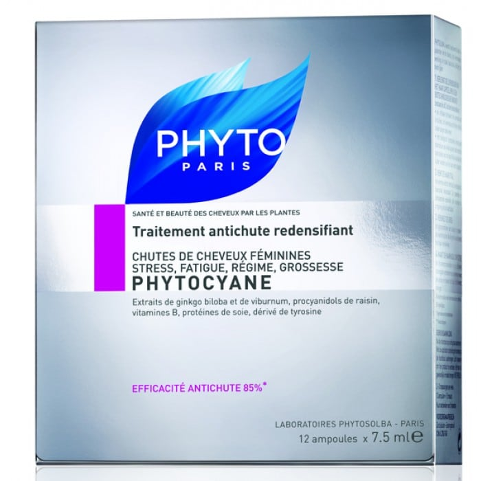 Phyto Phytocyane Ampoules 12 x7.5 ml