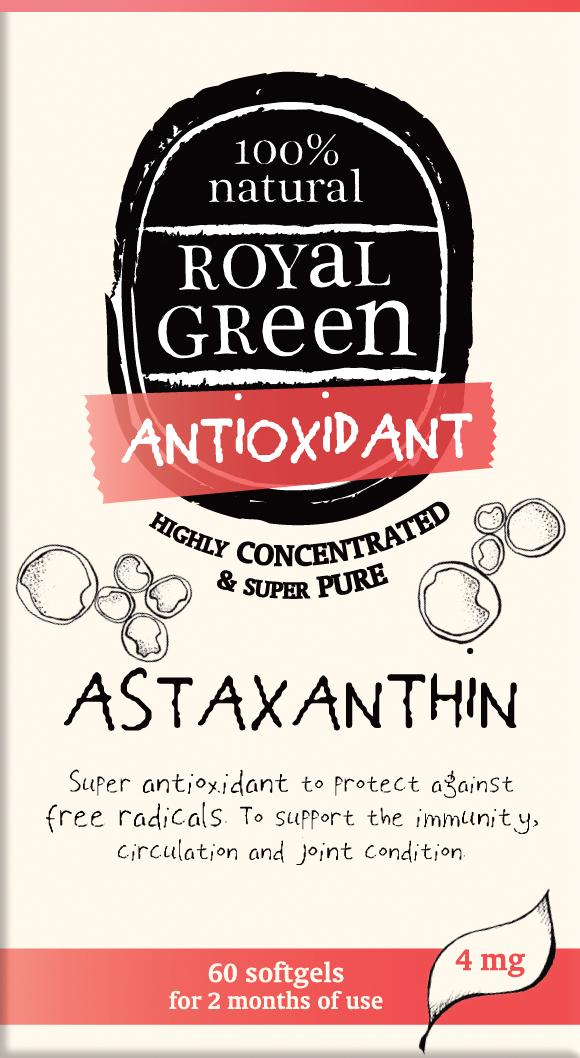 Royal Green Astaxanthin 60 caps
