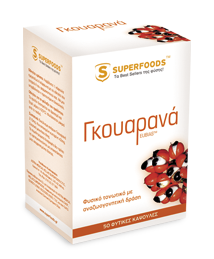 Superfoods Guarana Eubias 210 mg 50 caps