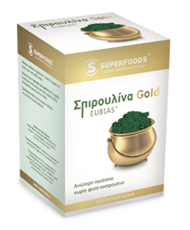 Superfoods Spirulina Gold Eubias 50 mg 180 tabs