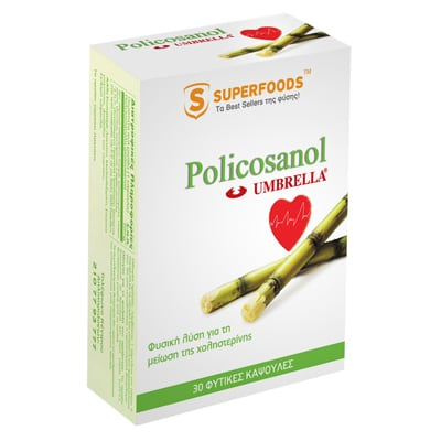 Superfoods Umbrella Policosanol 30 caps