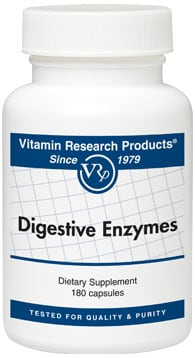 VRP Digestive Enzymes 180 caps