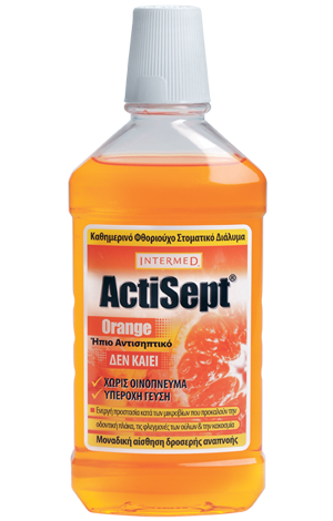 Intermed Actisept Mouthwash Orange 500 ml