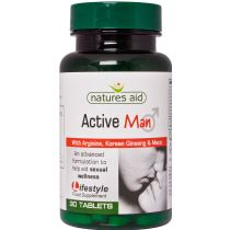 Nature's Aid Active Man 30 tabs