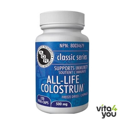 AOR All-Life Colostrum 120 vegi-caps