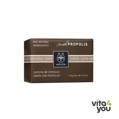 Apivita Natural Soap Πρόπολη 125 gr
