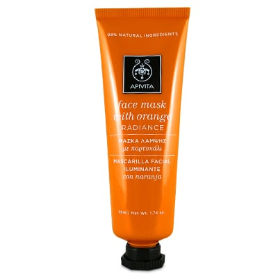 Apivita Radiance Face Mask with Orange 50 ml