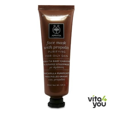 Apivita Purifying Face Mask with Propolis 50 ml