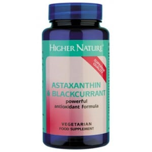 Higher Nature Astaxanthin & Blackcurrant 30 caps