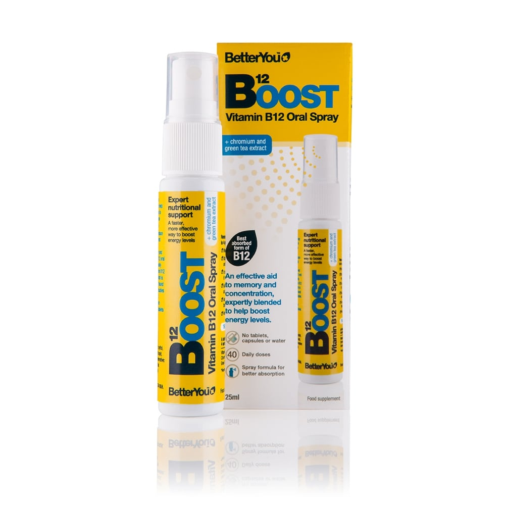 BetterYou Boost B12 oral spray 25 ml