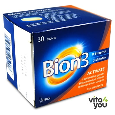 Bion 3 Activate 30 tabs