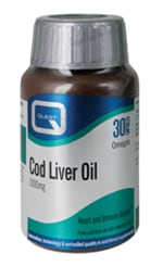 Quest Cod Liver Oil 1000mg 30 caps