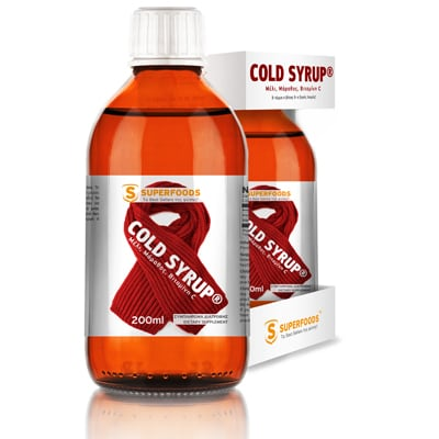 Superfoods Cold Syrup 200 ml