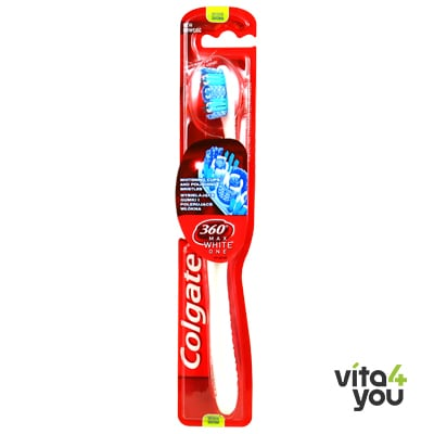 Colgate 360 Toothbrush Max White One Medium