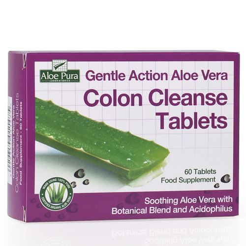 Optima Aloe Vera Colon Cleanse 60 tabs