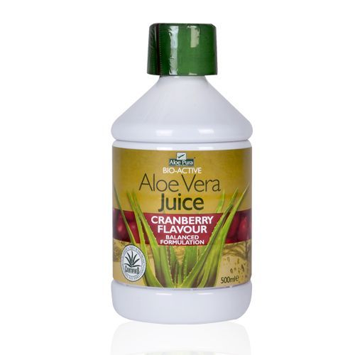 Optima Aloe Vera Juice with Cranberry 500 ml