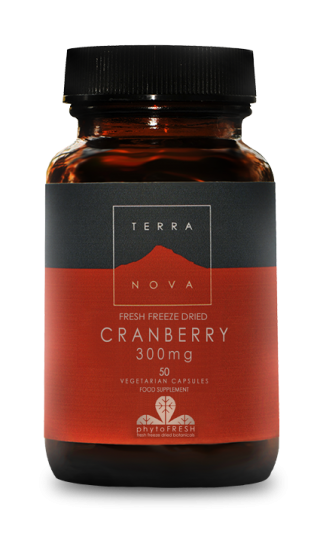 Terra Nova Cranberry 300 mg 50 veg caps