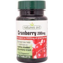 Nature's Aid Cranberry 200 mg 30 tabs
