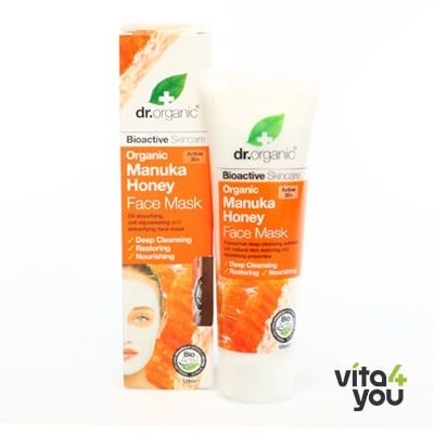 Dr. Organic Manuka Honey Face Mask 125ml