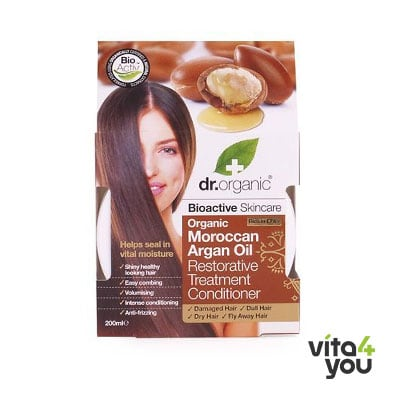 Dr. Organic Moroccan Argan Oil Restorative Treatment Conditioner 200 ml