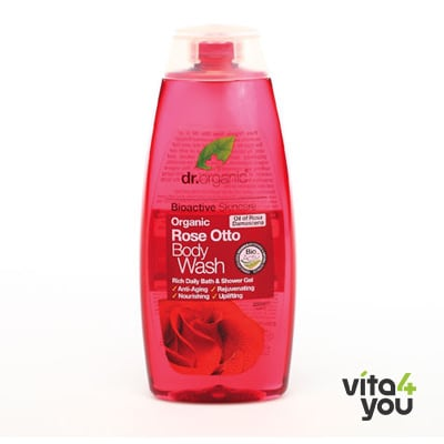 Dr. Organic Rose Otto Body Wash 250ml