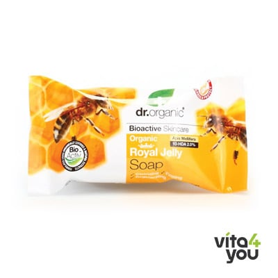 Dr. Organic Royal Jelly Soap 100gr