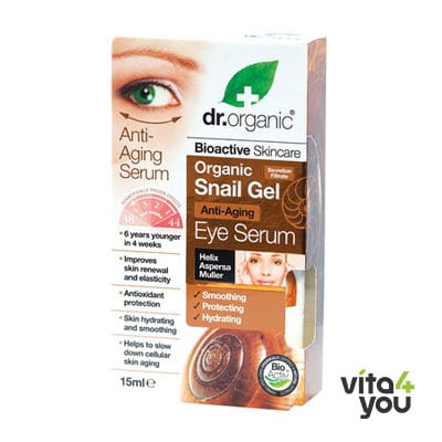 Dr. Organic Snail Gel Eye Serum 15 ml
