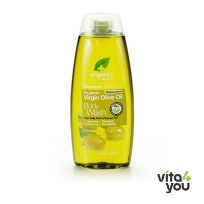 Dr. Organic Virgin Olive Oil Body Wash 250 ml