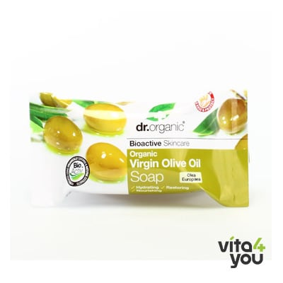 Dr. Organic Virgin Olive Oil Soap 100gr