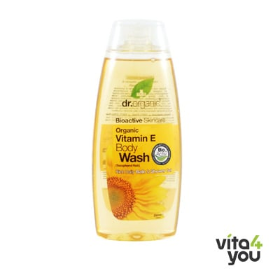 Dr. Organic Vitamin E Body Wash 250ml