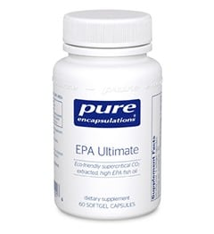 Pure Encapulations EPA Ultimate 60 softgels