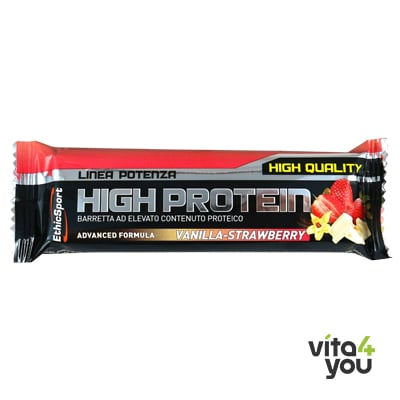 EthicSport High Protein Bar Vanilla - Strawberry 55 gr