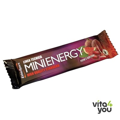 EthicSport Mini Energy Bar Figs and Dates 20 gr
