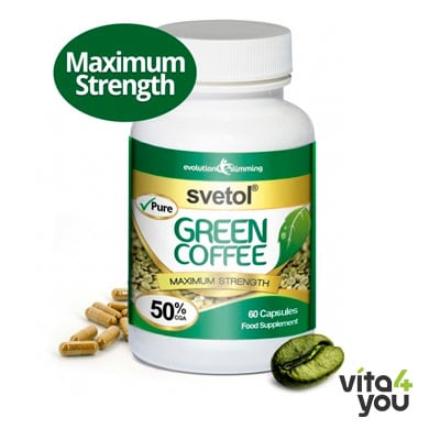 Evolution Slimming Green Coffee Svetol 4000 mg 60 caps