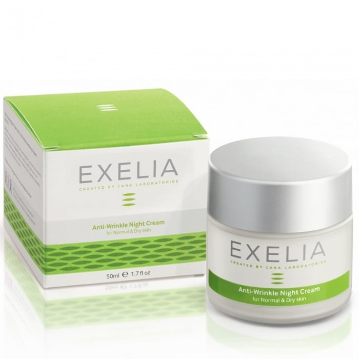 Exelia Anti-Wrinkle Night Cream for normal dry skin 50 ml