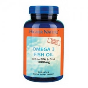 Higher Nature Omega 3 Fish Oil 30 caps