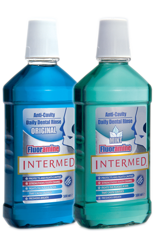 Intermed Fluoramine mouthwash 500 ml