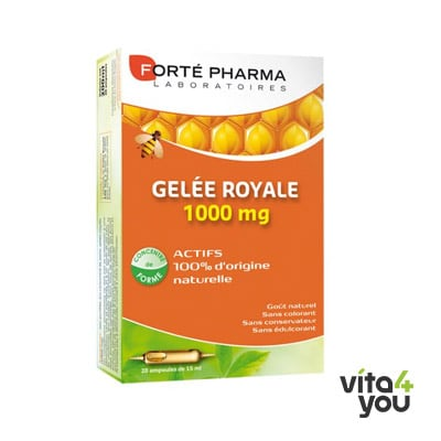Forte Pharma Gelée Royale 1000 mg 10 ml x 20 amp