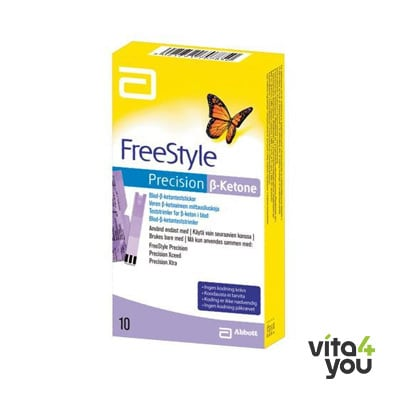FreeStyle Precision Xtra B-Ketone Strips 10 τμχ