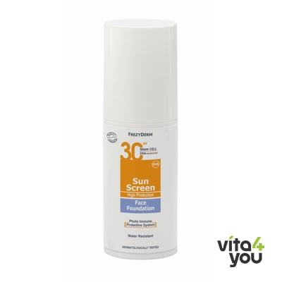 Frezyderm Sunscreen Face Fountation SPF30 40 ml