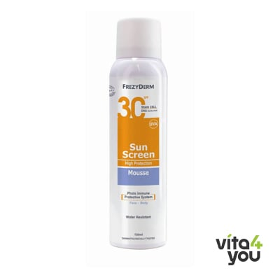 Frezyderm Sunscreen Mousse SPF 30 150 l